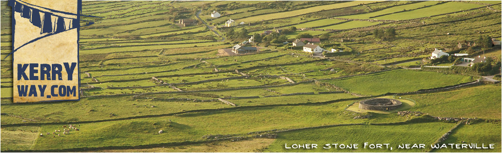 Loher Stone Fort outside Waterville near the Kerry Way