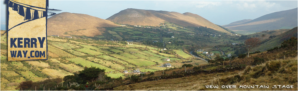 View towards Faghtshee from Mountain Stage on the Kerry Way