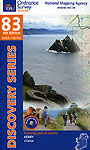 Map 83 by Ordnance Survey Ireland